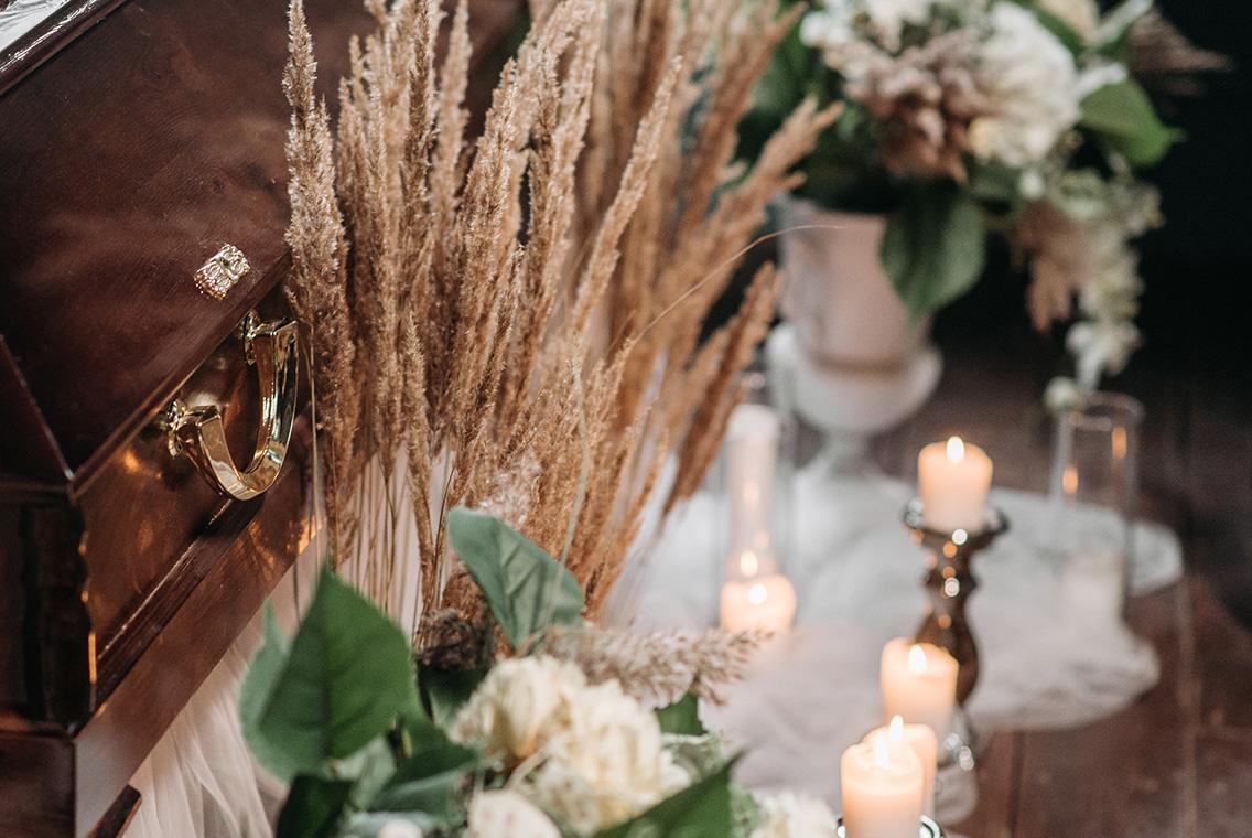 allestimenti di piante e fiori per eventi: funerali