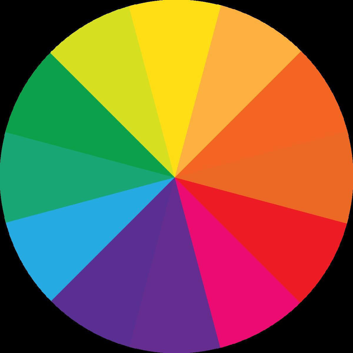 teoria dei colori piante e fiori