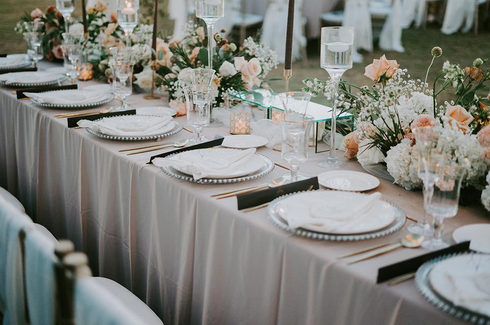 allestimenti di piante e fiori per eventi: matrimoni