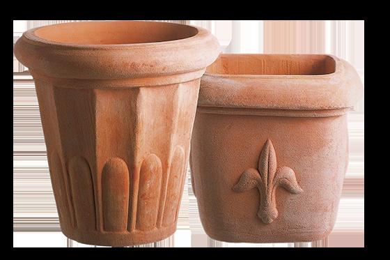 vasi speciali brescia in cotto vivaio volta
